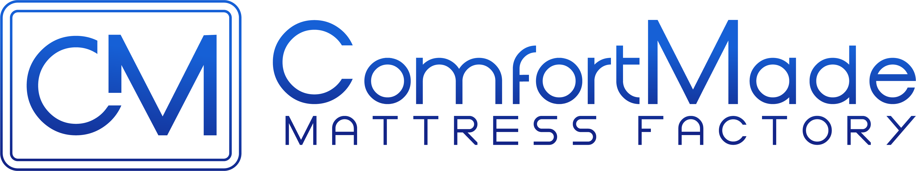 ComfortMade Mattress Factory Logo